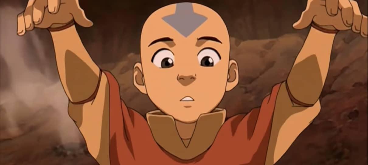 A produção da série Avatar: A Lenda de Aang começa em fevereiro