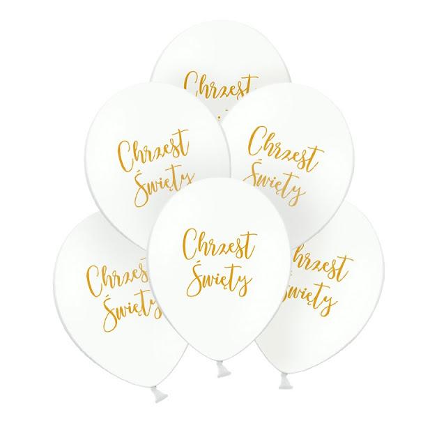 Balony na Chrzest dziecka - jakie wybrać?