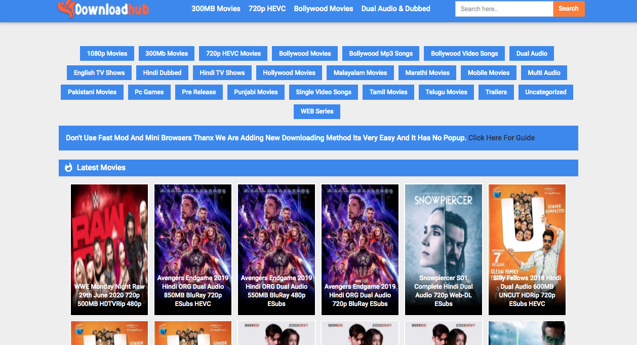 Downloadhub bollywood movies
