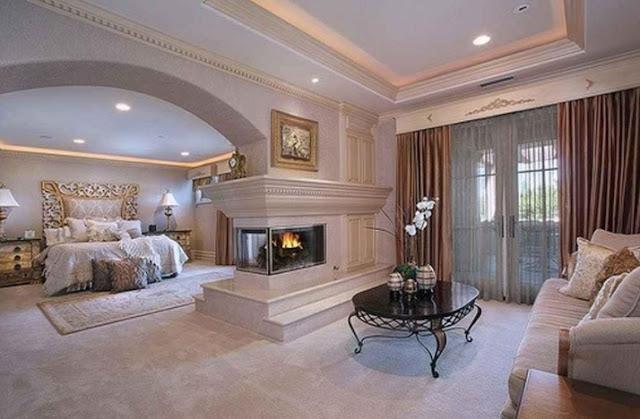 luxury bedroom designs pictures