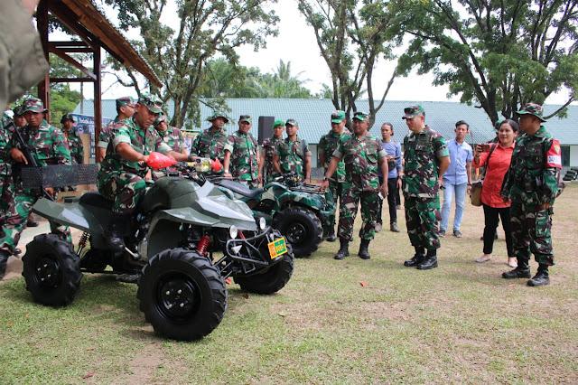 Berinovasi Di Bidang Otomotif, Korem 032/WBR Kembangkan Kendaraan ATV