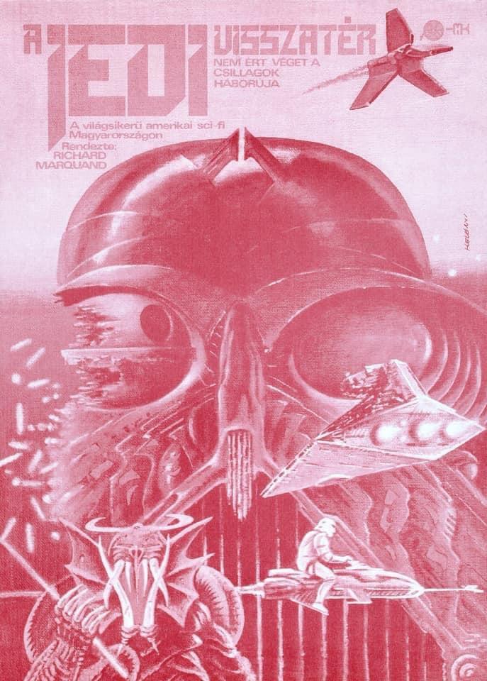Star Wars: cartazes húngaros da trilogia original são verdadeiras obras de arte