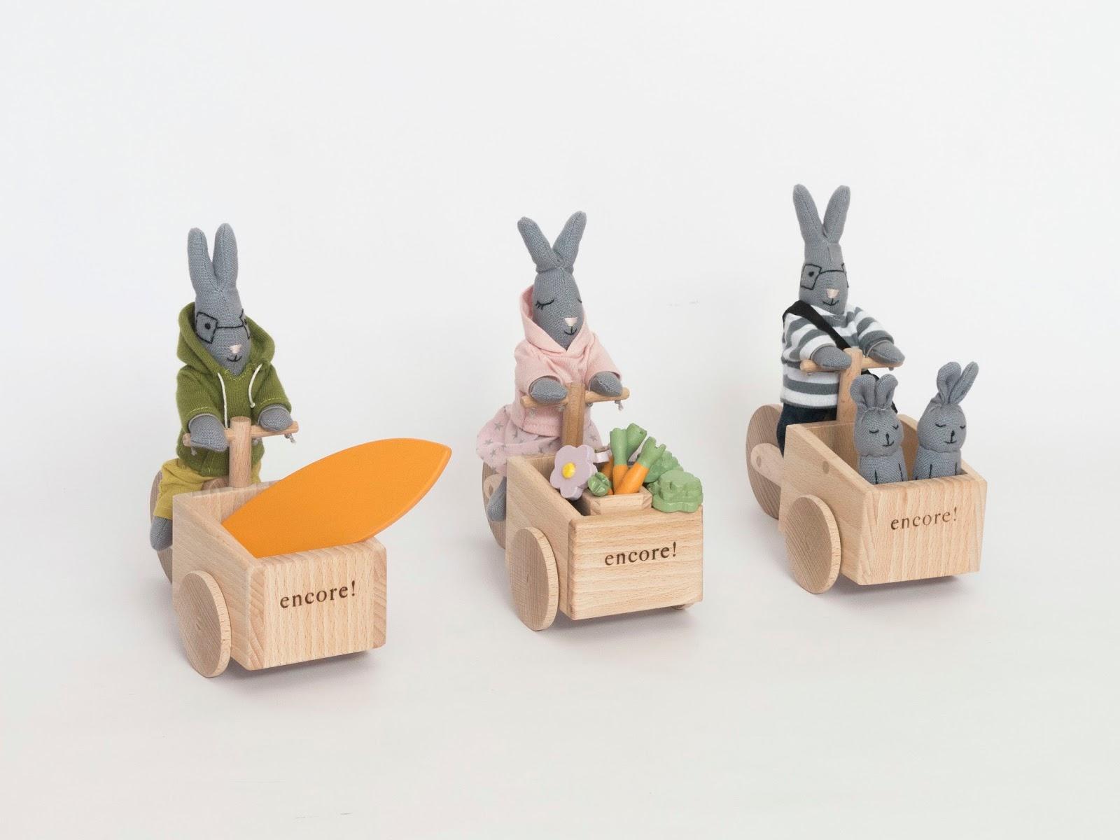 encore zabawki z drewna