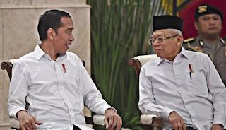 Kinerja Wapres Maruf Banyak Dikritik Tidak Maksimal, Jokowi Dinilai Hanya One Man Show!