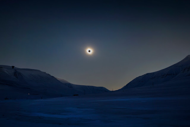 Solar Eclipse over Svalbard