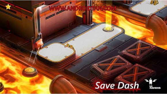 Free Download Save Dash Mod Apk v1.03 (Mod Unlocked) Android Latest Version Terbaru 2017