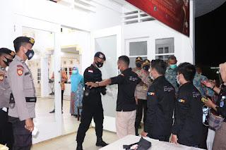 Kapolres Lingga Pimpin Pengamanan Debat Paslon Bupati dan Wakil Bupati Lingga