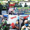Peringati Hari Kartini Prajurit Wanita (Wan TNI) berbagi Sembako ringankan beban warga di tengah Pandemi Covid -19