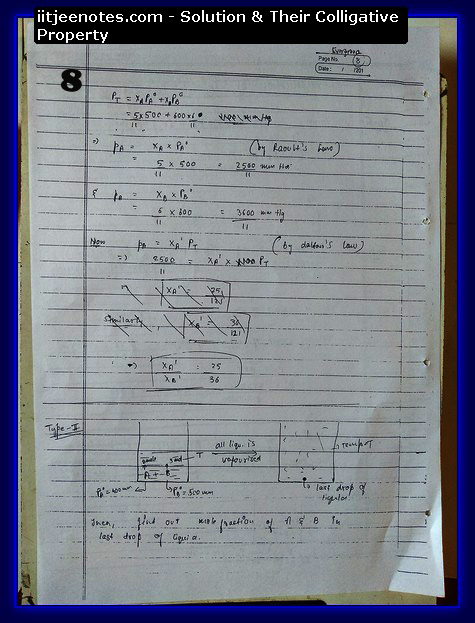 Solution and Their Colligative Property8