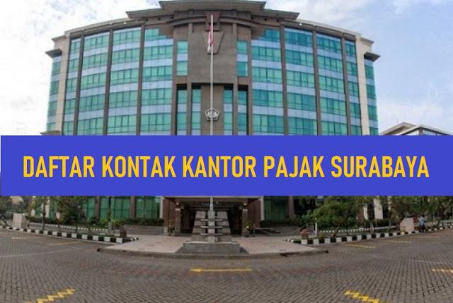 Daftar Kontak Kantor Pajak Wilayah Surabaya
