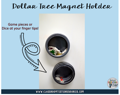 Dollar Tree magnetic tins