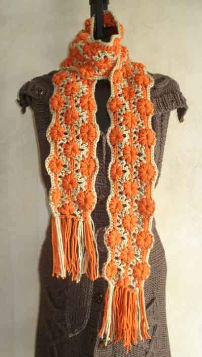 Cute Knitting Scarf Pattern