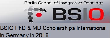 BSIO PhD and MD Scholarships for International in Germany in 2018, Eligibility Criteria, Method of Applying, Description, Application Deadline, Field of Study