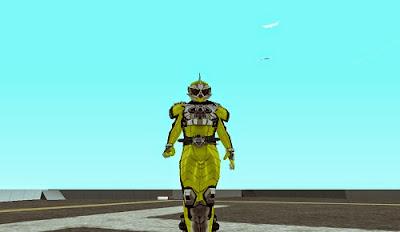 Skin Kamen Rider Accel Booster
