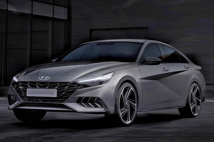 Chi tiết Hyundai Elantra N Line 2021 từ 606 triệu đồng tại Mỹ