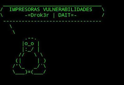 Hacking de impresoras | Aporte