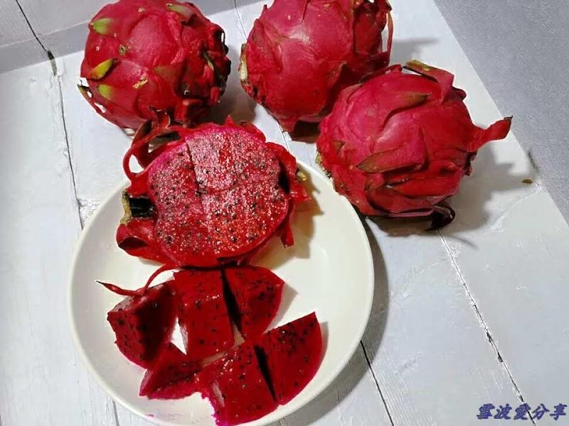 楊爺爺紅肉牌有機紅龍果,能讓你的味蕾好荔枝