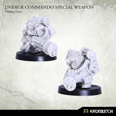 Review de Dvergr Commando Special Weapon: Magma Gun, Flammer y Plasma - Kromlech