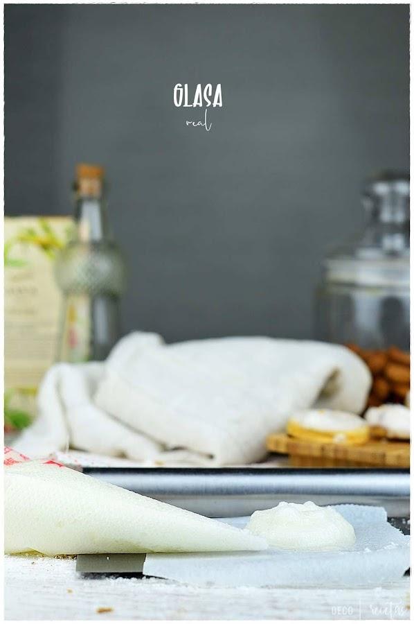 Glasas: Todo sobre la Glasa real: tipos de glasa, uso de albúmina y cremor tártaro, cómo conservarla y tiempo de secado