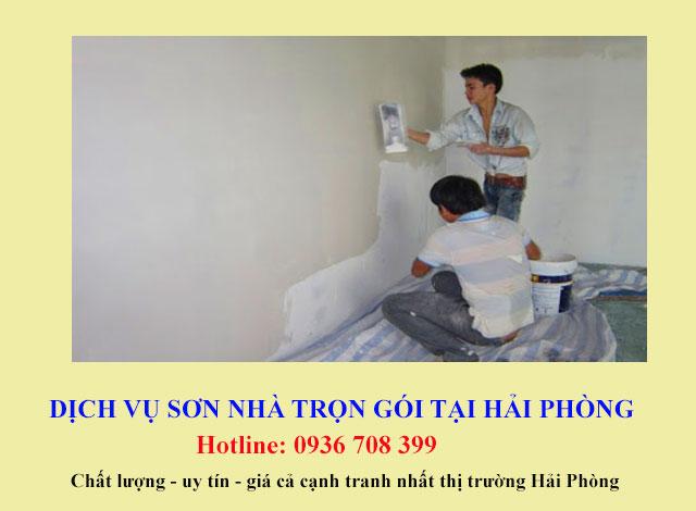 Thi công sơn nhà trọn gói tại Hải Phòng. Liên hệ: 0936 708 399 để được tư vấn và hướng dẫn cụ thể