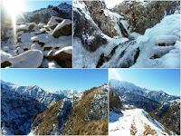 Зимний поход в ущелье Оджук, Варзоб, горы Таджикистана