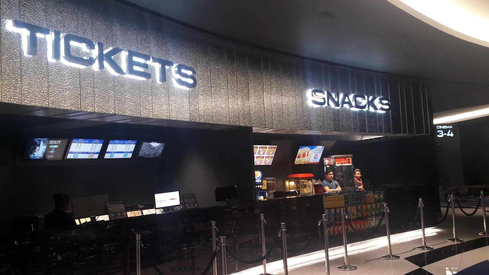 Cinema Center vista cinemas opens and only mx4d motion efx theater in the country at evia lifestyle