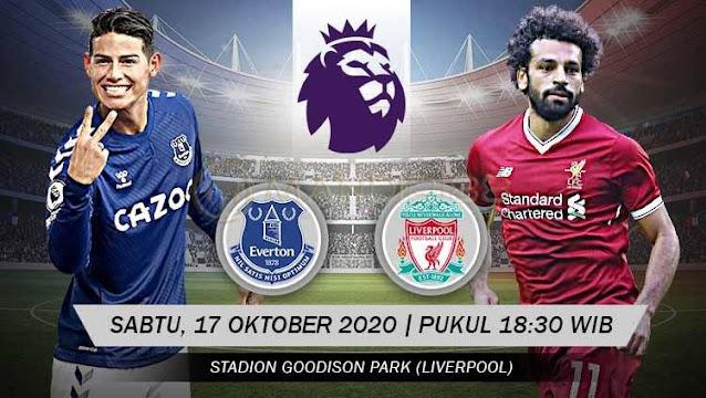 Prediksi Everton Vs Liverpool, Sabtu 17 Oktober 2020 Pukul 18.30 WIB @ Mola TV
