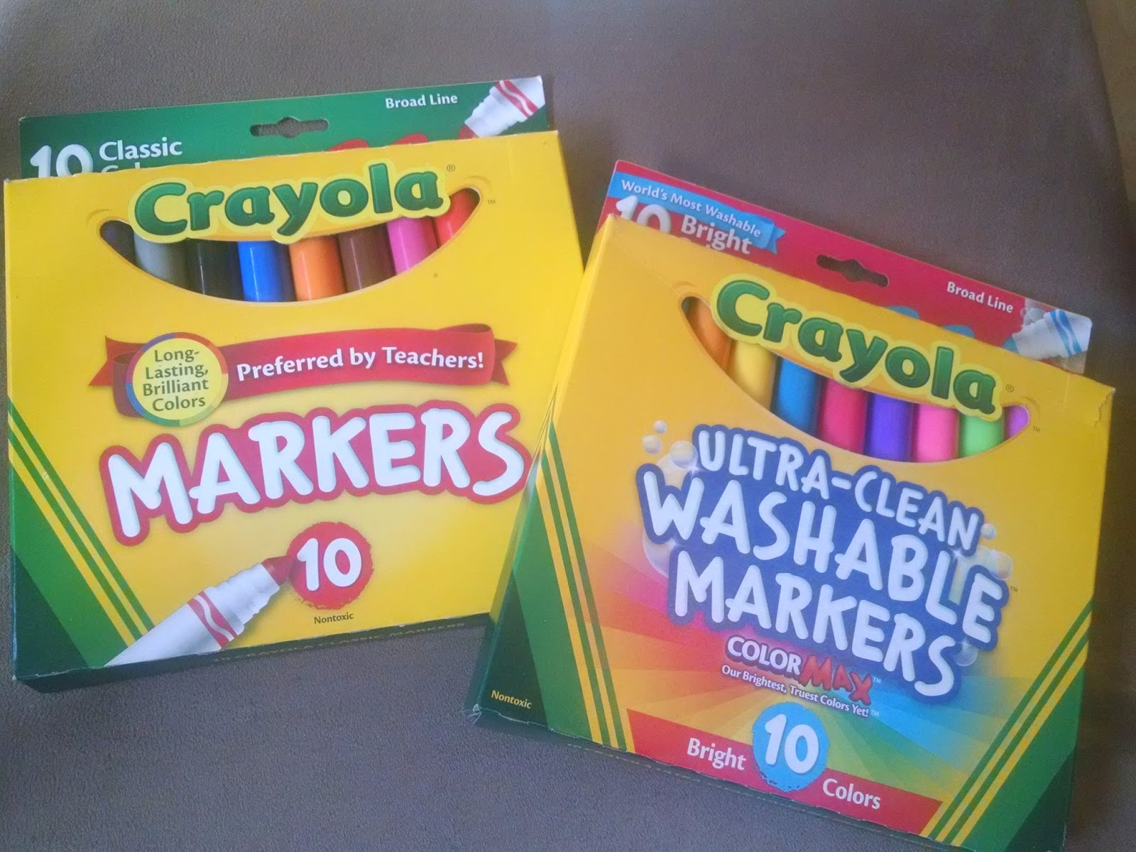 Brush lettering with crayola markers an artful mom