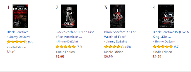 Black Scarface (4 Book Series) The #1 Selling Book Series For Five Straight Years! | @JimmyDaSaint1