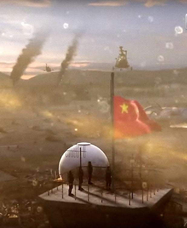 A propaganda oficial vem incitando os espíritos para um conflito universal