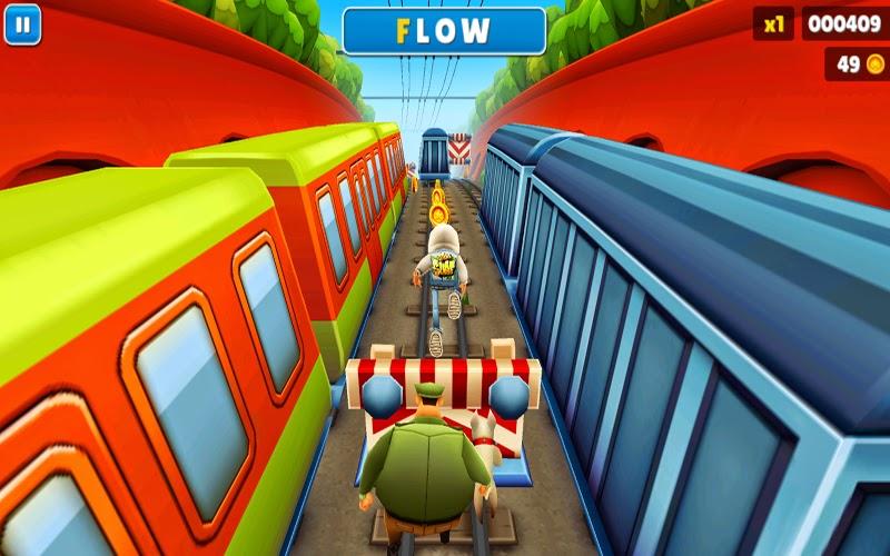 Free Download Game Subway Surfers For PC,gratis,walkthrought