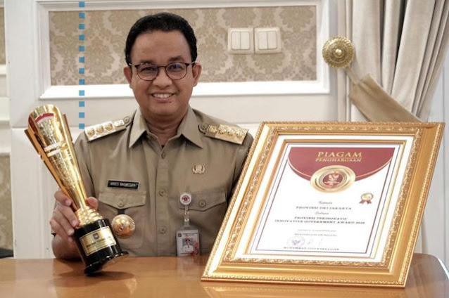 Pemprov DKI Jakarta Kembali Raih Penghargaan Ini, Anies Baswedan: Alhamdulillah