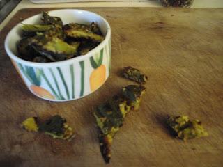chips vegan croccante buccia zucca