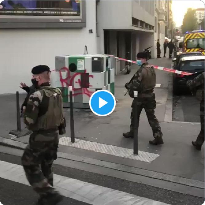 """Lyon : Un prêtre orthodoxe blessé par balles à proximité d'une église """"Le tireur est en fuite"""""""