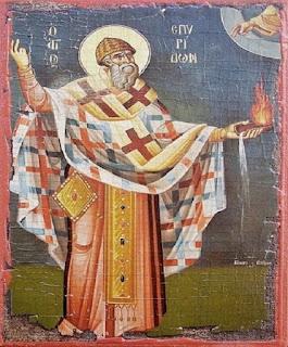 Cum a demonstrat Sfântul Spiridon misterul Sfintei Treimi