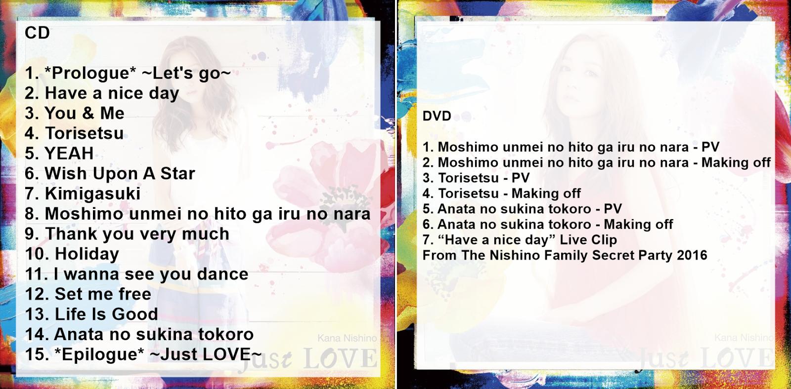 "Kana Nishino >> Album ""LOVE it"" KNBR1"