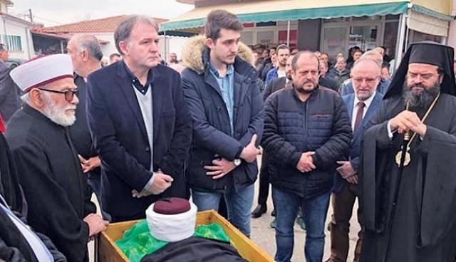 Θράκη: Προκλήσεις στην κηδεία του μουφτή!