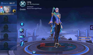Tanggal Rilis Hero Ling ke Server Global Mobile Legends