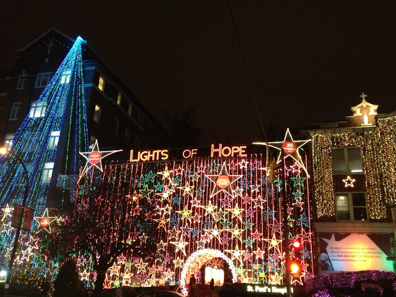St Pauls Hospital Festive Lights of Hope