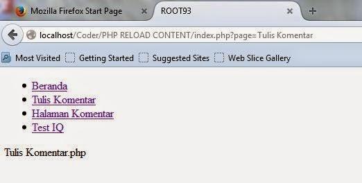Hasileksekusi di browser