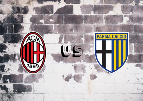 Milan vs Parma  Resumen y Partido Completo