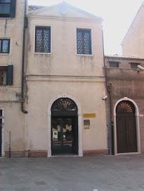 The entrance to the Museo Ebraico di Venezia