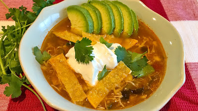 Quick and easy best Instant Pot chicken tortilla soup recipe