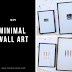 #DIYFriday | Quick & Easy Minimal Wall Art