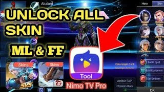 Download Nimo TV Pro Box v1.0.2 Free Skins Mobile Legends & Free Fire APK!