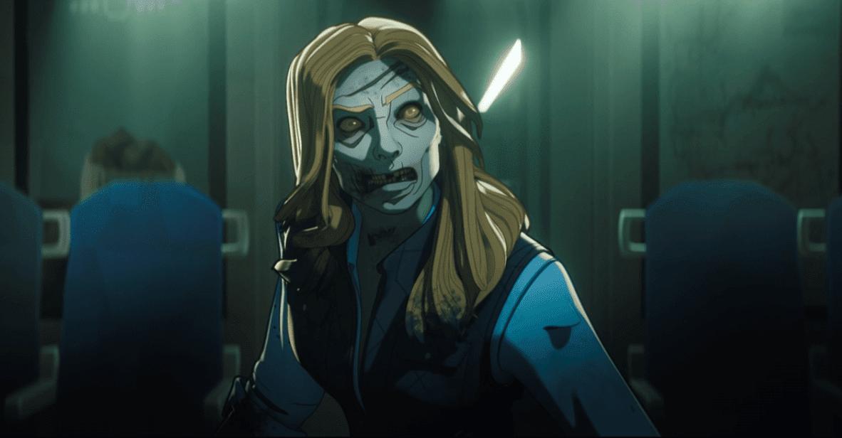 Sharon Carter convertida en zombie en What If...?