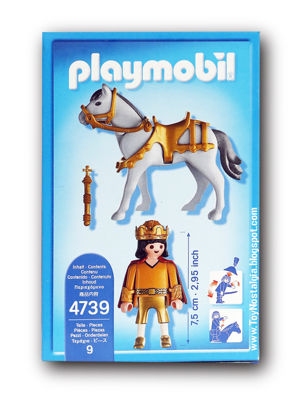 Playmobil 4739. Jinete de Bamberg  2012 exclusive