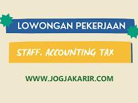 Lowongan Kerja Bantul Staff Accounting Tax di Harapan Jaya Aluminium