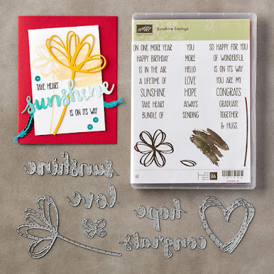 Stampin' Up! Susan Simpson UK Independent Stampin' Up! Demonstrator, Craftyduckydoodah!, Sunshine Sayings, Coffee & Cards project April 2017, Supplies available 24/7 from my online store,