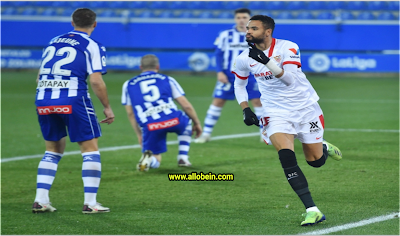 Full summary: The Deportivo Alaves and Sevilla match in the Spanish League competition